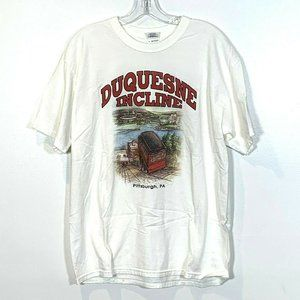 Pittsburgh PA Duquesne Incline Vintage Skyline Top